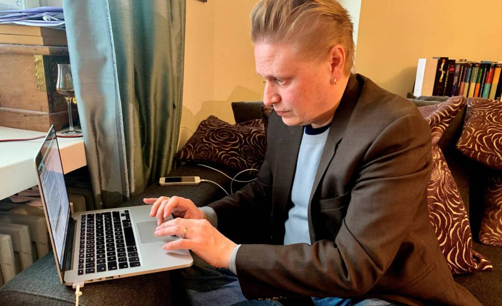 El periodista y escritor Tuomas Muraja, participó del proyecto de renta básica en Finlandia.
