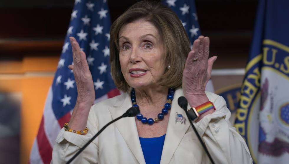Nancy Pelosi, líder de la mayoría demócrata en el Congreso