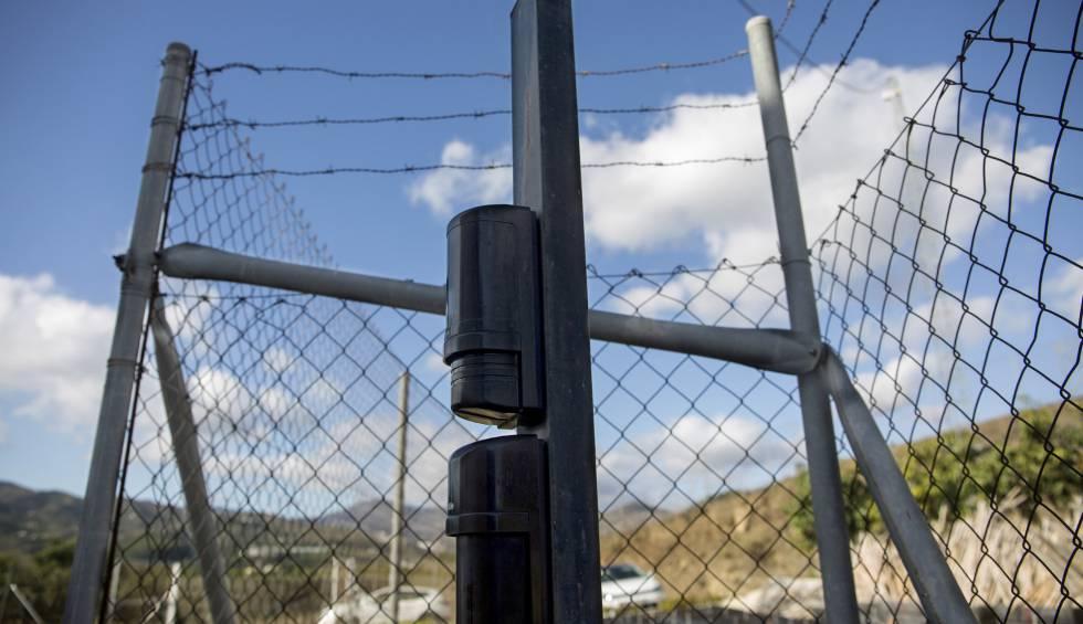 Cámaras de vigilancia, sensores y vallado en la empresa Reyes Gutiérrez, exportador de frutas tropicales.