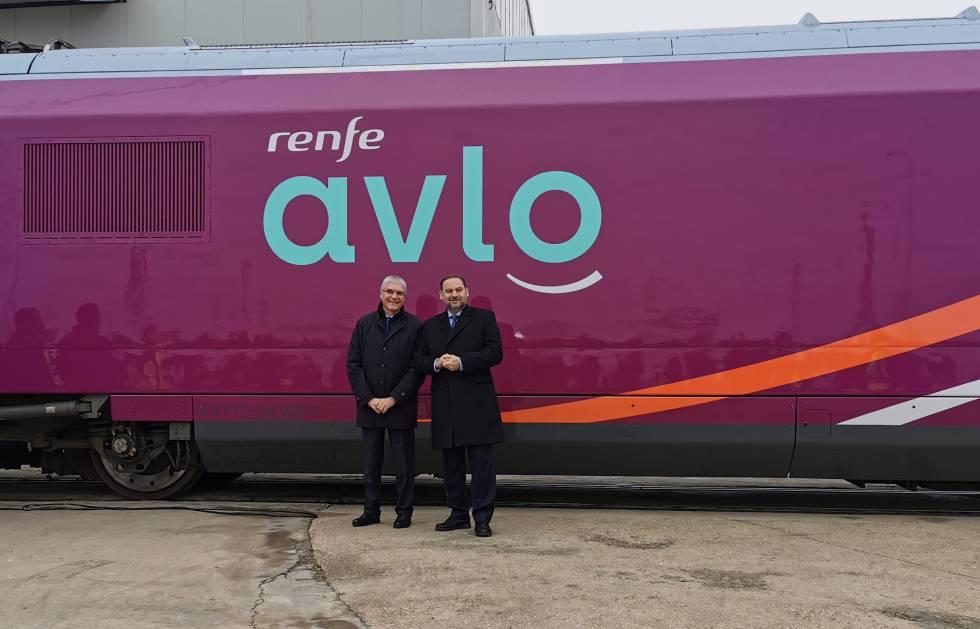 EL AVE 'low cost' de Renfe se llama AVLO y se estrenará el 6 de abril