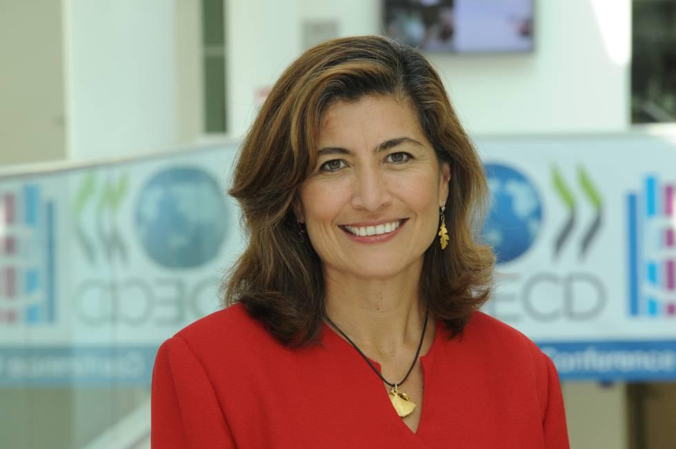 Gabriela Ramos, directora de gabinete y 'sherpa' de la OCDE.