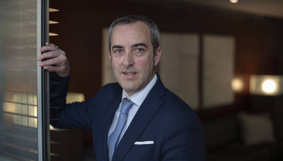 Sergio Grao, director del Hotel Zenit Borrell de Barcelona.