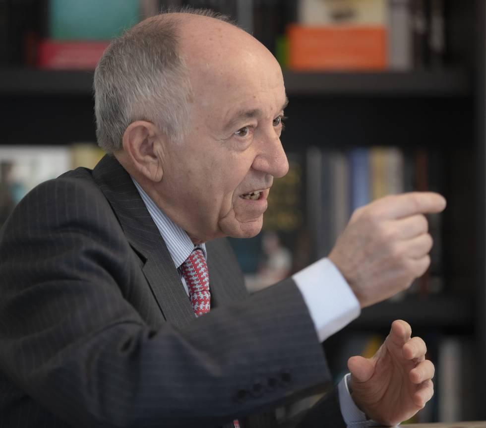Miguel Ángel Fernández Ordóñez, expresidente del Banco de España.