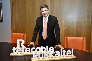 El consejero delegado de Euskaltel, José Miguel García.