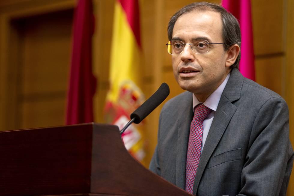Javier Arias, decano de Medicina de la Universidad Complutense.