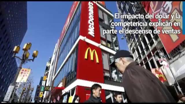 McDonald's acelera el declive