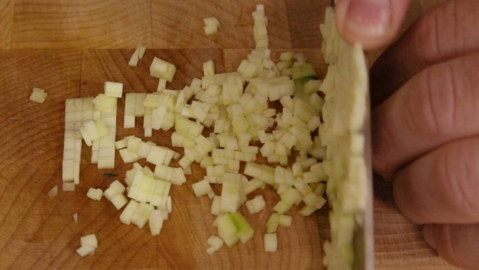 Curso rápido de corte de verduras
