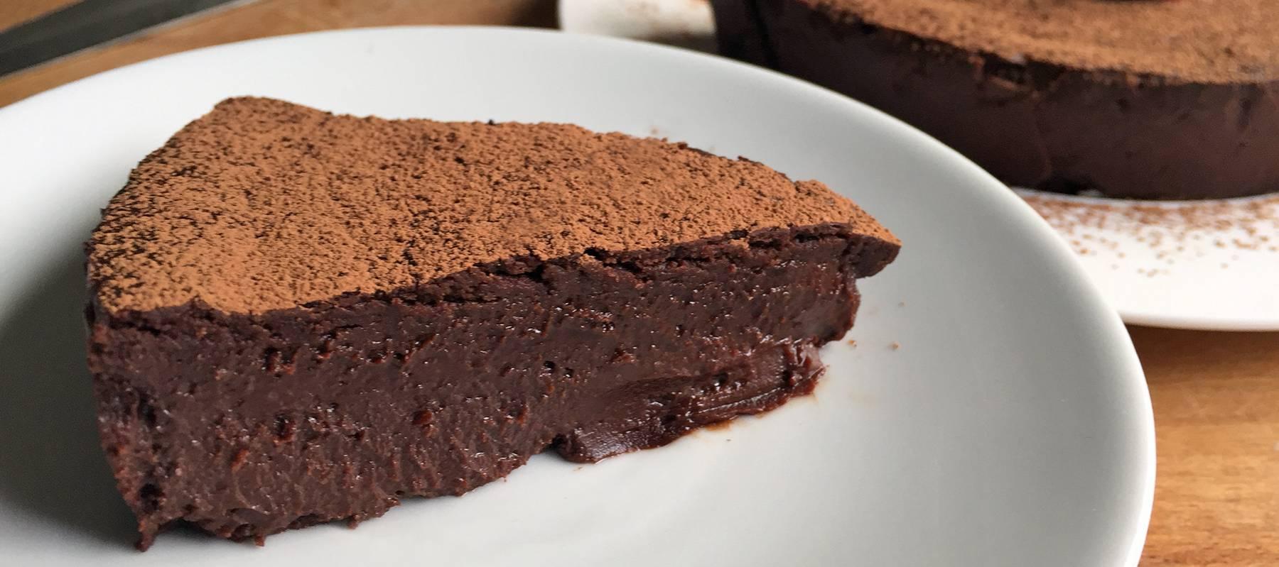 pastel de cacao