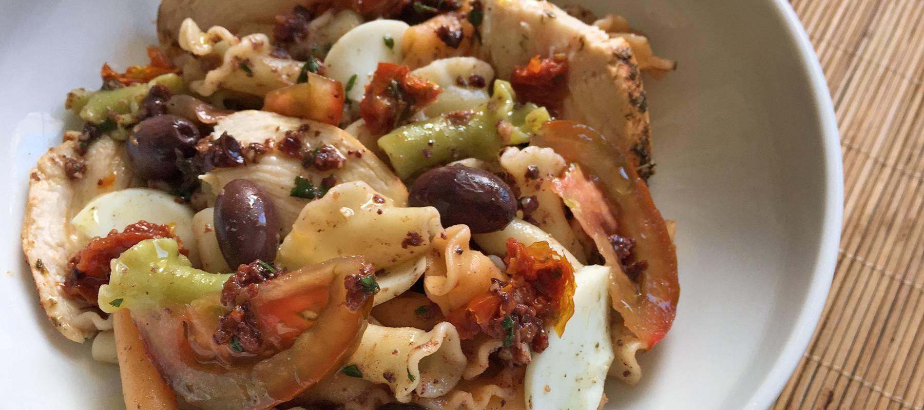 C mo perfeccionar tus ensaladas de pasta recetas el - Ensalada fresca de pasta ...