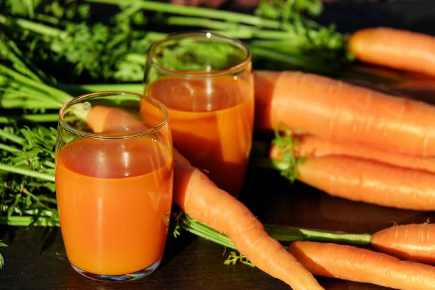 Malas noticias: ni al zumo se le van las vitaminas ni la zanahoria ...