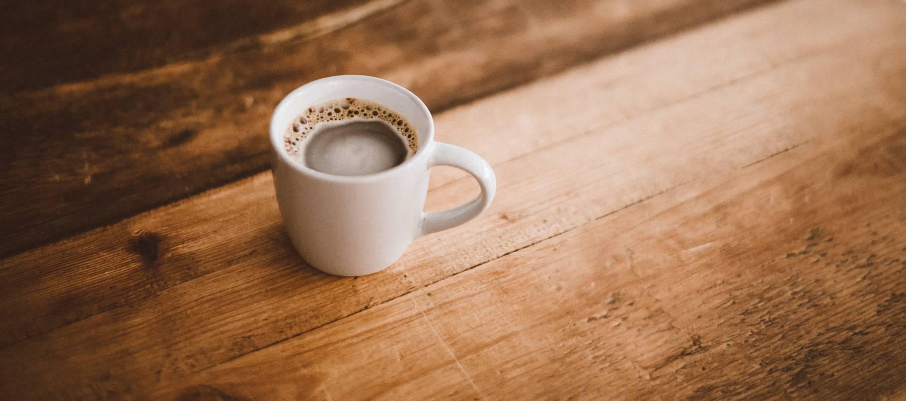 Basta de tonterías con el café