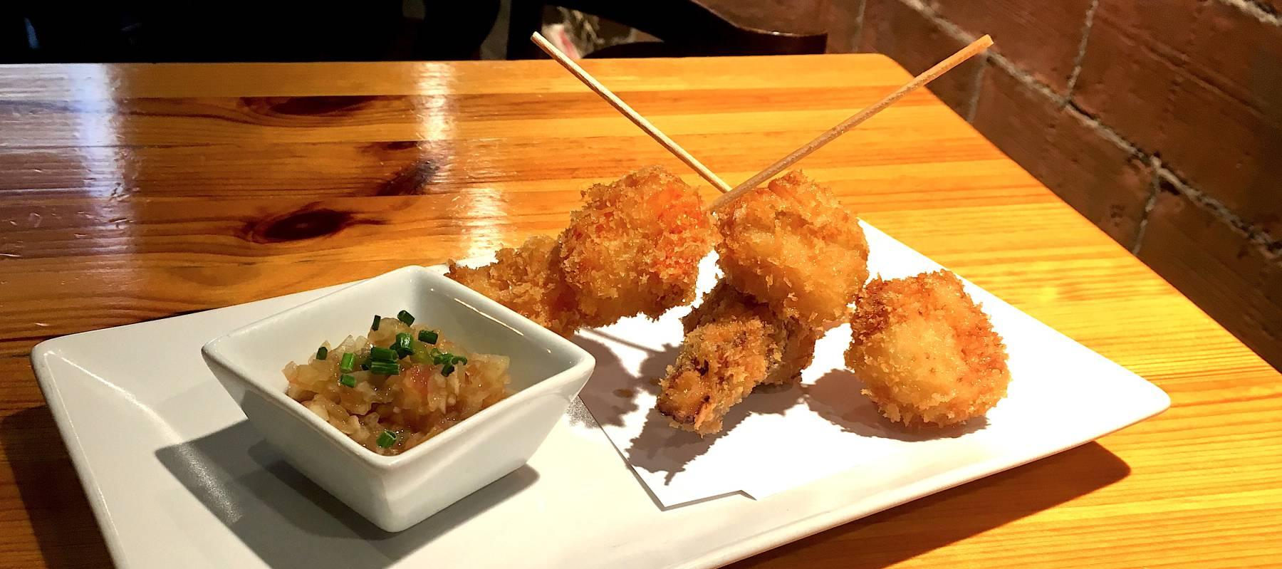 Kushiage: las últimas delicias rebozadas de japón