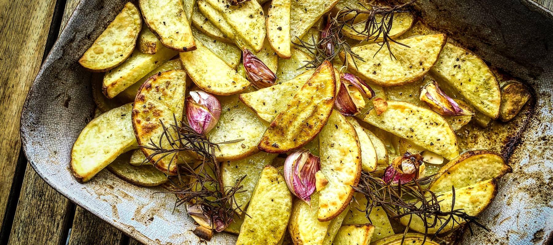 Patatas rústicas al horno  43bd0feb2a9