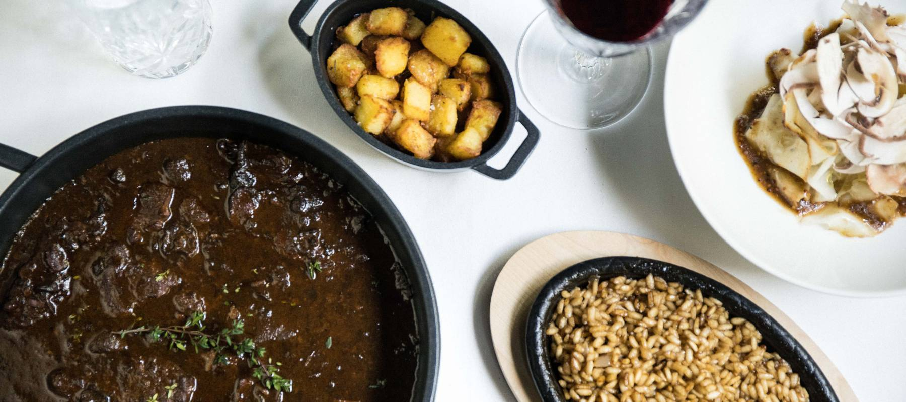 El restaurante con un solo plato