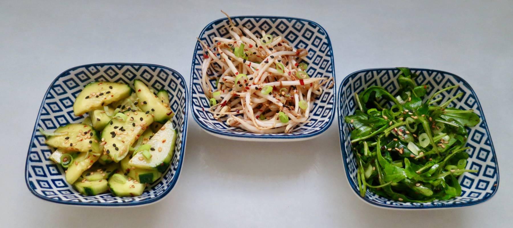 Tres platillos fáciles de estilo coreano que no son kimchi