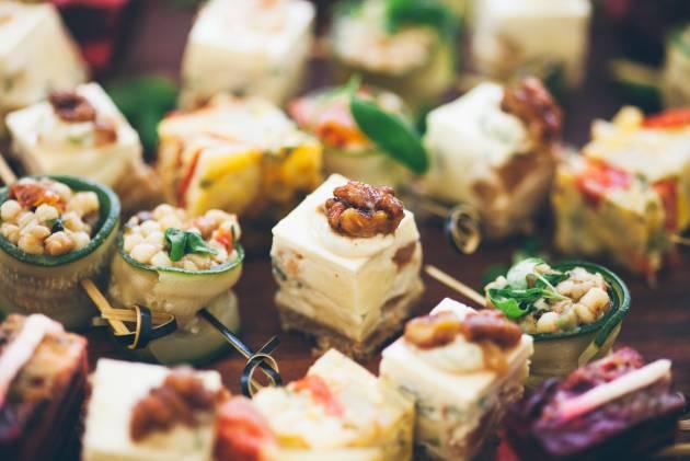 Diez ideas de aperitivos fáciles para Nochevieja