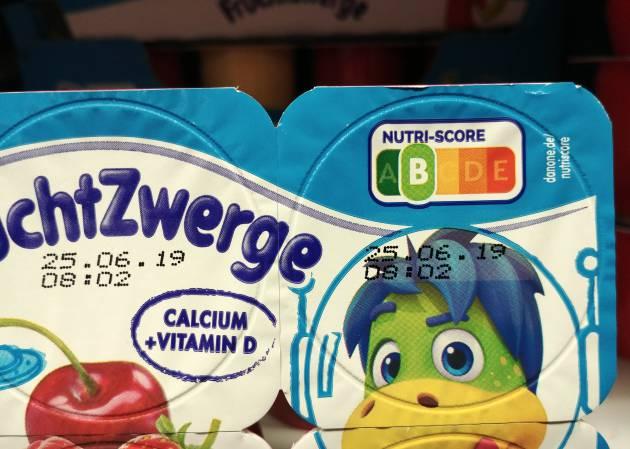 Estos yogures tienen una B en la escala Nutri-Score