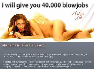 Tania Derveaux Blowjob Pics