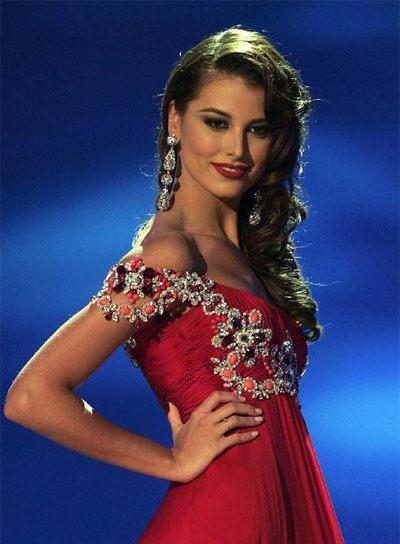 La venezolana Stefanía Fernández, Miss Universo 2009 ...