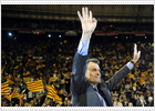 CiU nationalists set to capture premiership in Catalan race