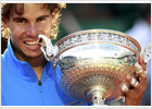 Nadal turns six shooter in Paris