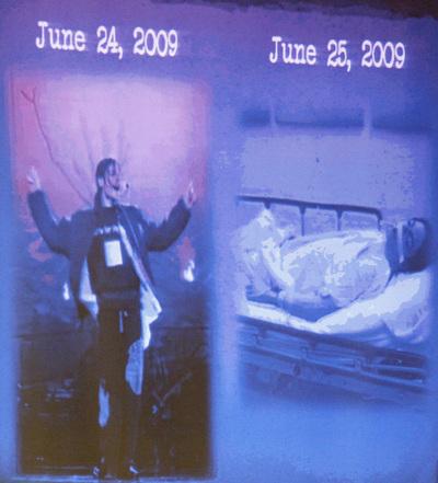 El fiscal del juicio contra el m dico de michael jackson for En que ano murio michael jackson