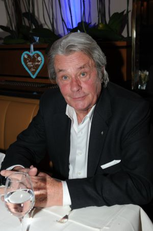 El actor francés Alain Delon.