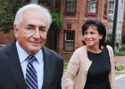 Anne Sinclair rompe con Dominique Strauss-Kahn