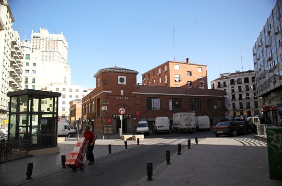The Mercado de Mostenses in its current state.