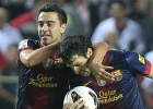Barça digs deep for Sevilla win