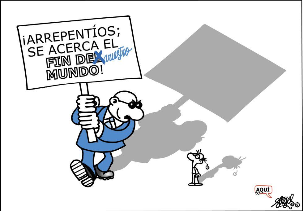 Viñeta de Forges en El País (13.12.2012)