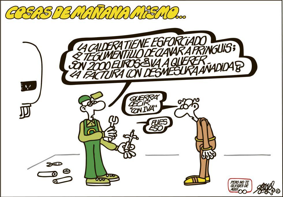 Viñeta de Forges en El País (11.01.2013)