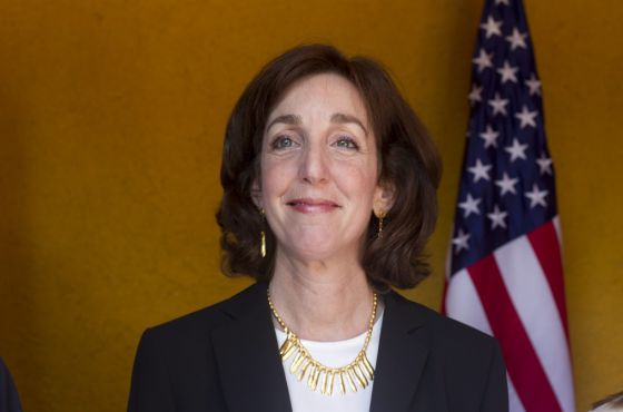 The assistant secretary of state for Western Hemisphere Affairs, Roberta Jacobson.