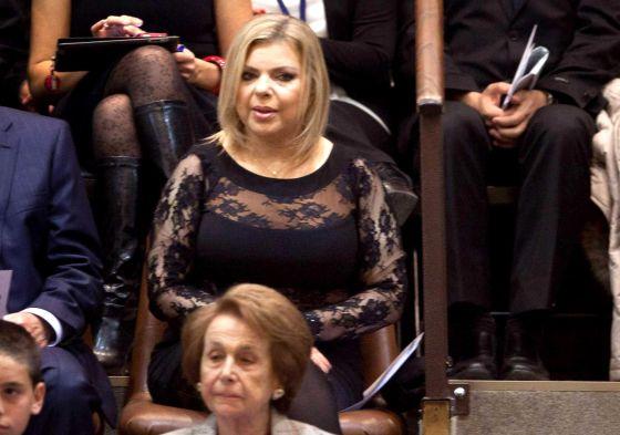 El criticado modelito de Sara Netanyahu en el parlamento de Israel.