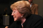 Former President Bachelet sweeps up in opposition primaries