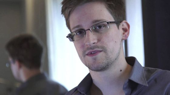 Former National Security analyst Edward Snowden