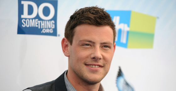 El actor Cory Monteith.