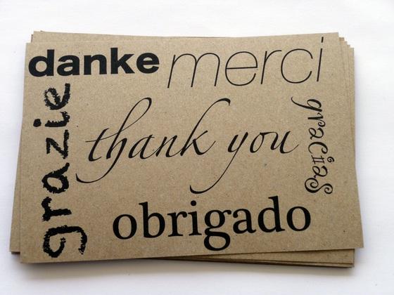 muchas gracias en brasileno