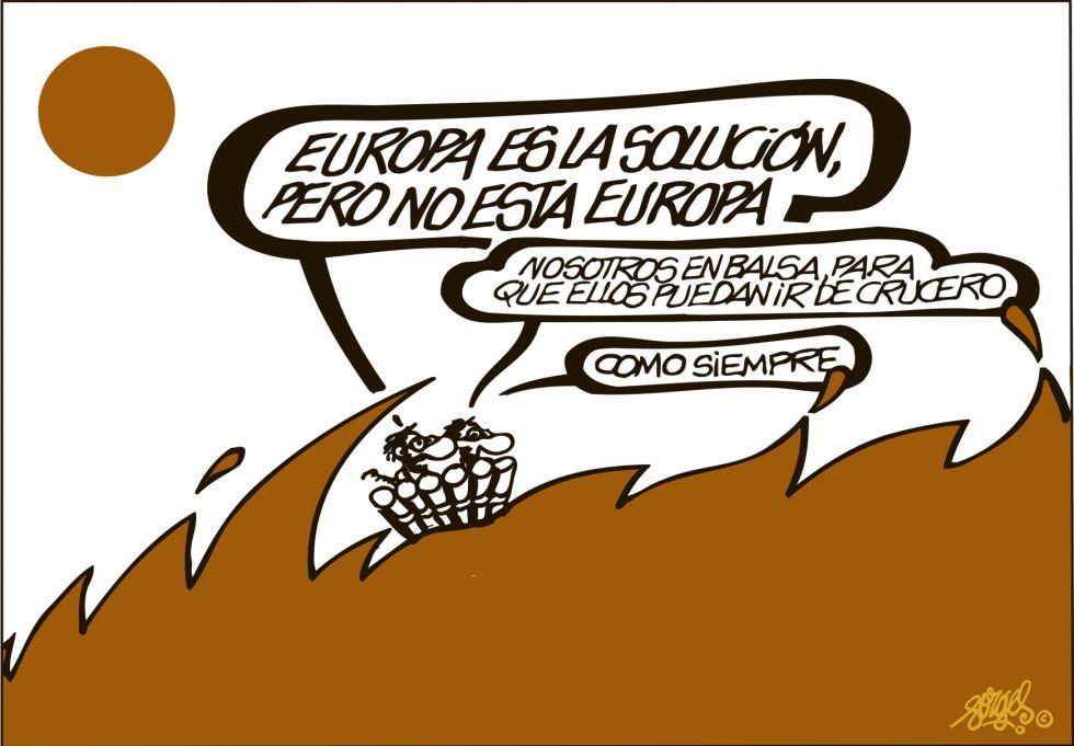 Resultat d'imatges de Europa viñetas