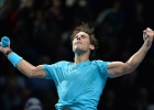 Nadal sees off Wawrinka to retain number-one spot until 2014