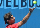 Tough ride for Nadal in Melbourne
