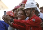 The death of another worker tarnishes Rousseff's visit