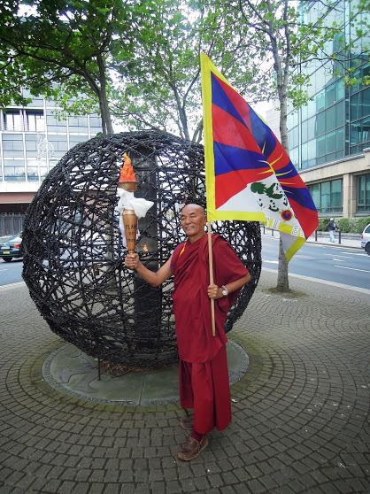 Thubten Wangchen. Maison du Tibet à Barcelone