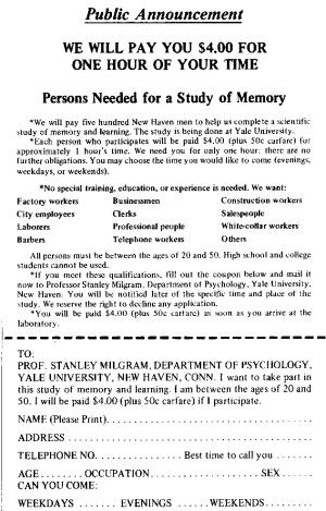 """Résultat de recherche d'images pour """"expérience de Milgram"""""""