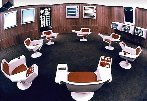 Imagen del extinto proyecto chileno Cybersyn.