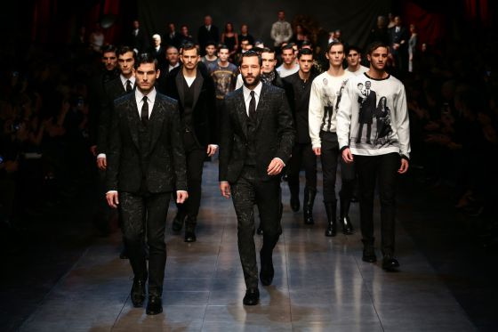 6c0adb25b1 Un momento del desfile de Dolce & Gabbana en la Milan Fashion Week /  Vittorio Zunino Celotto /