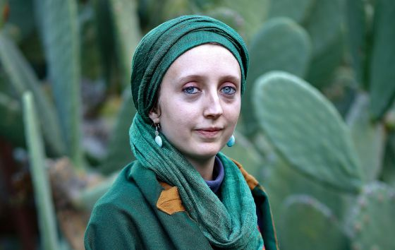 Mariam Sakina Scott, 22, was one of the first to be born into a Sufi convert family in Órgiva.