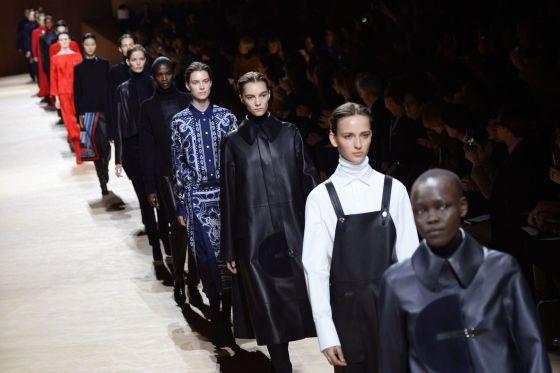 Desfile de Nadège Vanhee-Cybulski para Hermès