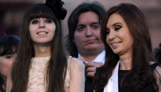 Florencia Kirchner Embarazada: Cristina Fernández, Otra Vez Abuela