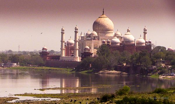 Taj Mahal, el edificio que provoca serenidad